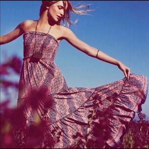 Free People strapless maxi dress, BNWOT